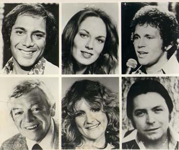 8 X 10 still of six celebrities