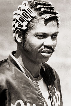 Dock ellis hair curlers