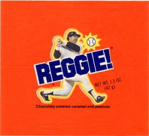 Reggie chocolate bar