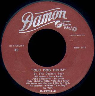 Old Dog Drum label