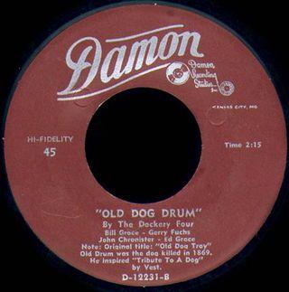 Old Dog Drum label