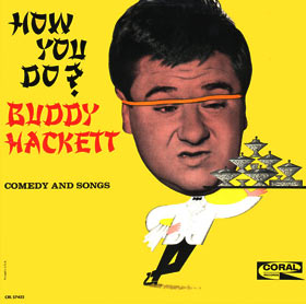 Buddy hackett LP
