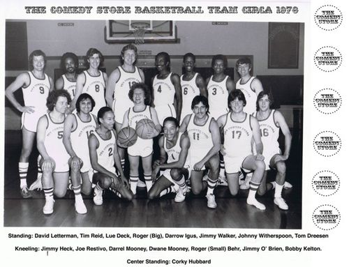 The comedy store basketball team letterman