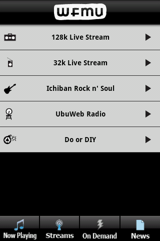 Android_live_streams