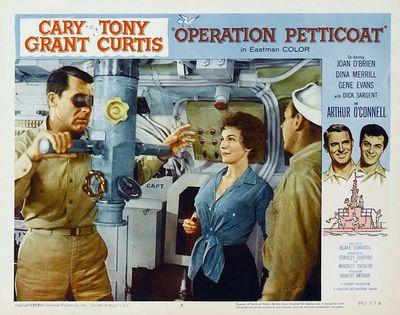 Operation petticoat lobby card