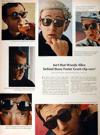 Sunglasses woody allen