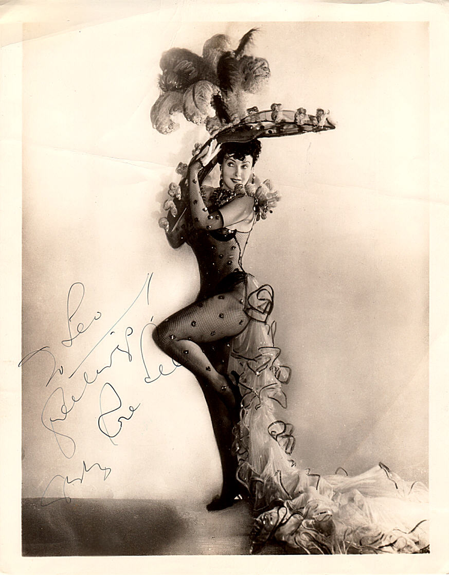 gypsy rose lee cast