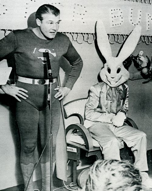 Superman-easter bunny