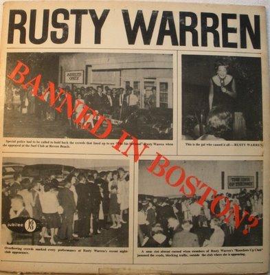 Rusty warren banned in boston