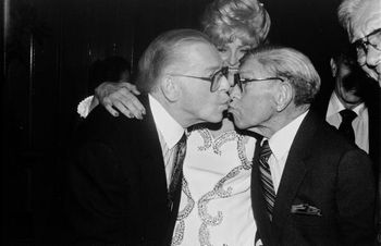 Milton berle george burns