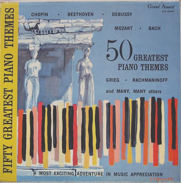 50 Greatest Piano Themes