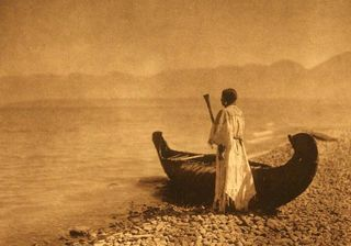 Kutenai-woman