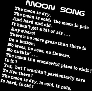 Moon Song lyric
