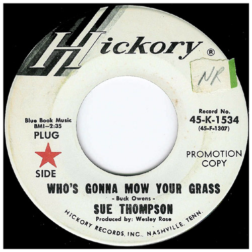 Sue_thompson_mow_grass_45rpm