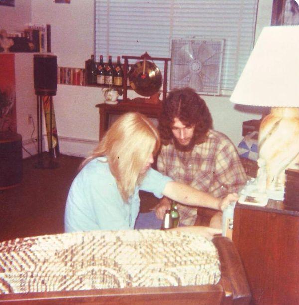 LMB_1979_Steve and Steve discuss music_Millpond Village Broa