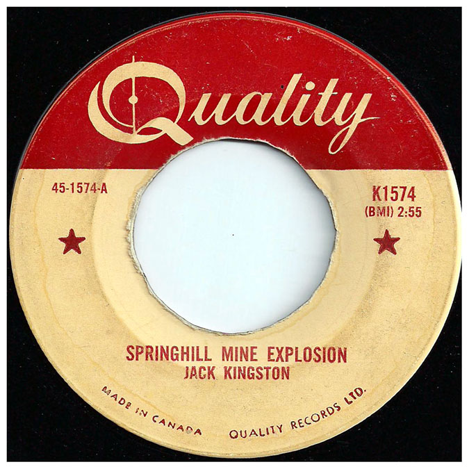45rpm_quality_springhill_mine_explosion