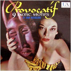 Provacatif front cover - mono