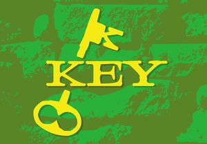 KEY Records LOGO - color version by Drew Dobbs