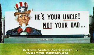 He's Your Uncle - front cover detail