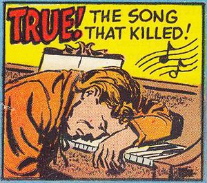 The Song That Killed - cover blurb