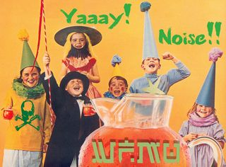 Yay for WFMU Noise Logo - by Drew Dobbs
