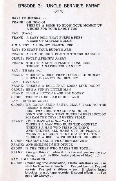 Absolutely Free Libretto pg 9