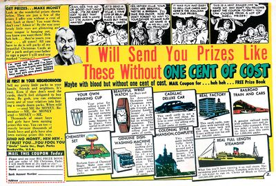 Uncle Louie ad from MAD magazine - scan by Drew Dobbs