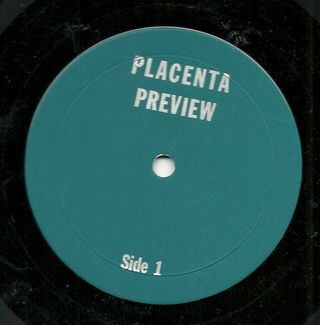 Placenta Preview Label