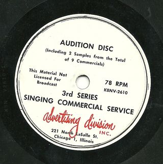 Audition Disc