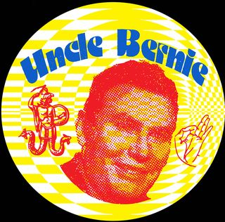Uncle Bernie Fan Club Badge by Drew Dobbs
