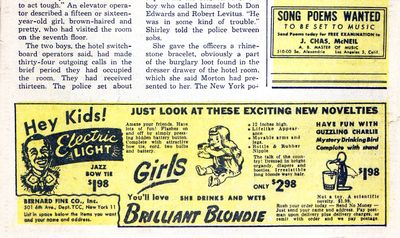Possible novelty mart ad 1948