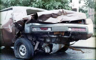 1972 Fury Crashed