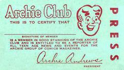 Archieclubcard