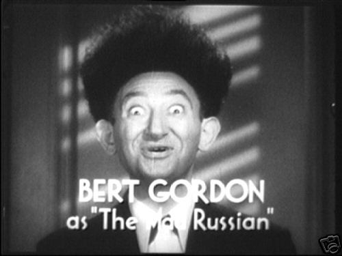 Is Bert really a terrorist. First we#39;ll meet Bert Gordon,