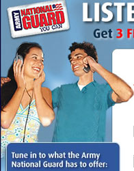Tune in to what the Army National Guard has to offer: MP3's!