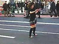 Shinjuku street dancer